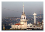 Cruise in Golden Horn And Bosphorus, Asian Side And Maiden Tower